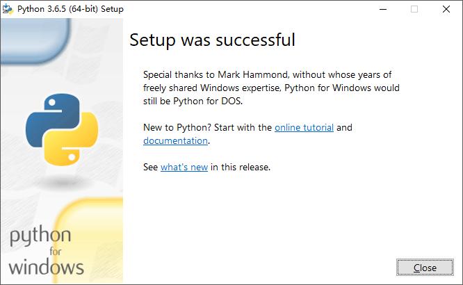 Win10 64位 安装Python及环境变量配置插图(3)