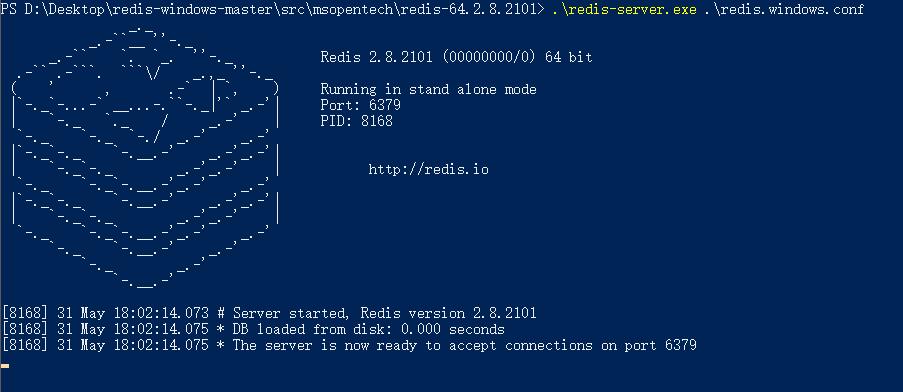 Windows下redis安装插图(3)